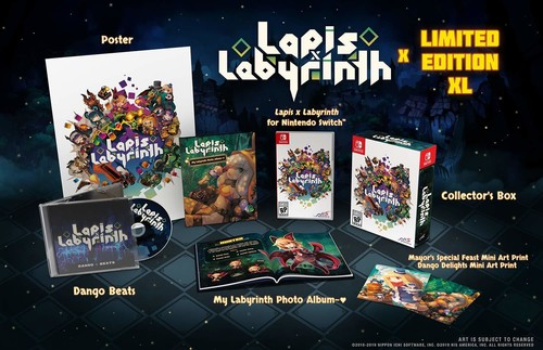 Lapis x Labyrinth - Limited Edition XL 2 for Nintendo Switch
