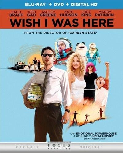 Wish I Was Here [2 Discs] [UltraViolet] [Blu-ray/DVD]