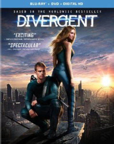 Divergent [2 Discs] [UltraViolet] [Blu-ray/DVD]