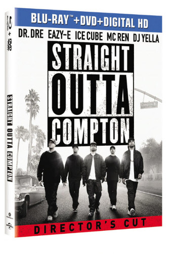 Straight Outta Compton [Blu-ray/DVD]