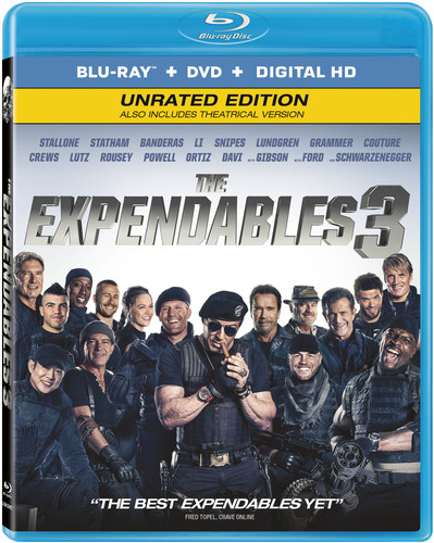 Expendables 3 [2 Discs] [Ultraviolet] [Blu-ray/DVD]