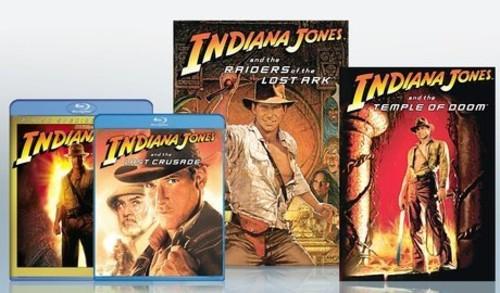 Indiana Jones & Kingdom Crystal Skull BD