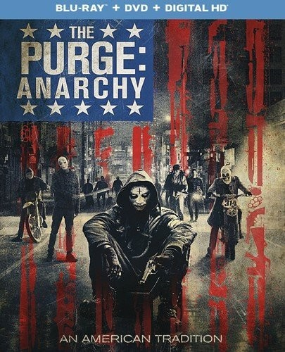 Purge: Anarchy [2 Discs] [UltraViolet] [Blu-ray/DVD]
