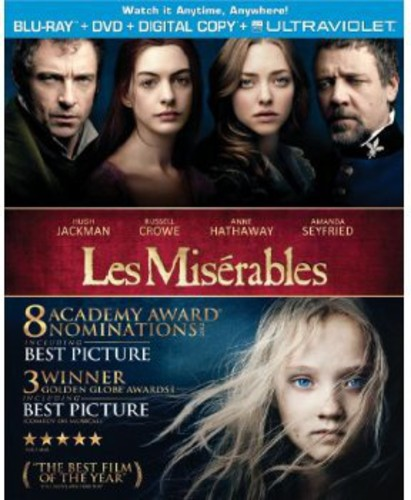 Miserables [2 Discs] [UltraViolet] [Blu-ray/DVD]