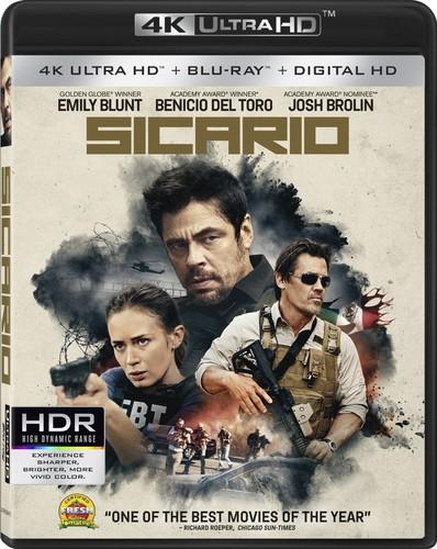 Sicario [4K Ultra HD Blu-ray/Blu-ray] [2 Discs]