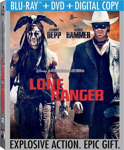 Lone Ranger [2 Discs] [Blu-ray/DVD]