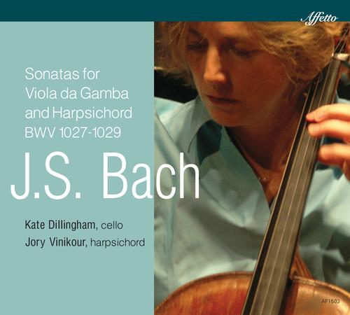 J.S. Bach: Sonatas for Viola Da Gamba & Harpsichod