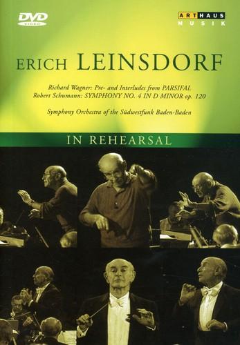 Erich Leinsdorf in Rehearsal
