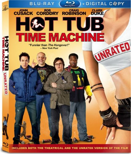 Hot Tub Time Machine [Unrated] [2 Discs] [Blu-ray]