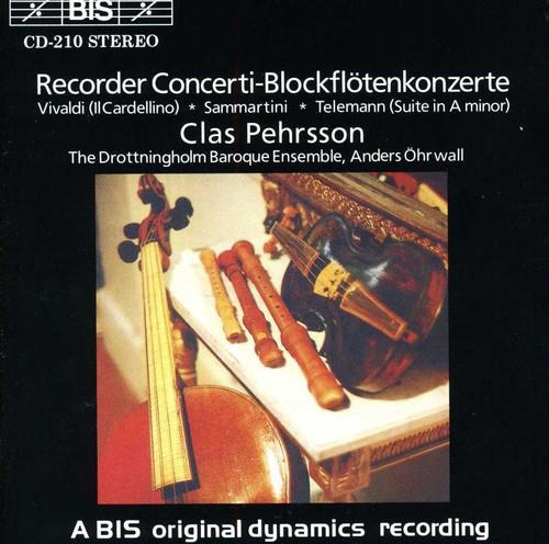 Recorder Concerti /  Suite