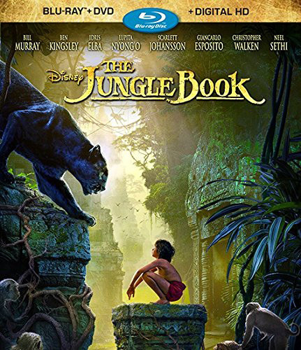 JUNGLE BOOK [Blu-ray+DVD+Digital HD][2 Discs]