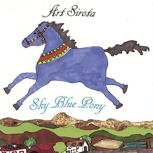 Sky Blue Pony