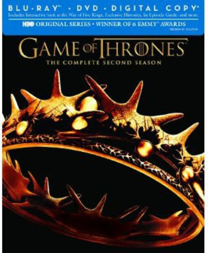Game of Thrones: The Complete Second Season [7 Discs] [Blu-ray/DVD]