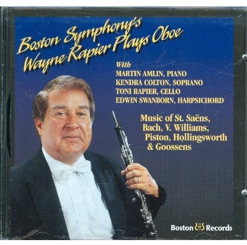 Bach/ Goossens/ Piston : Rapier Plays Bach Etc.