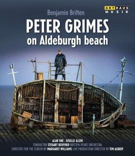 Peter Grimes on Aldeburgh Beach