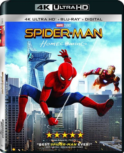 Spider-Man: Homecoming [4K Ultra HD Blu-ray/Blu-ray]