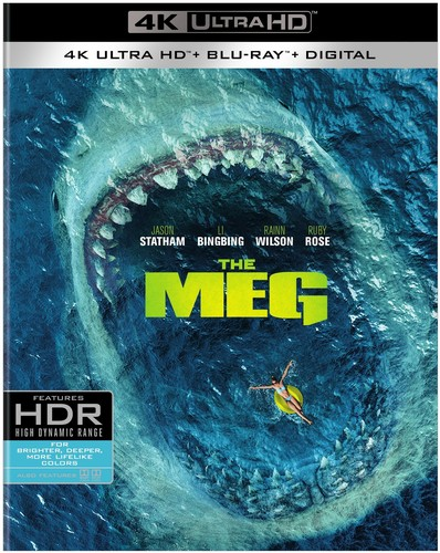 Meg [4K Ultra HD Blu-ray/Blu-ray]