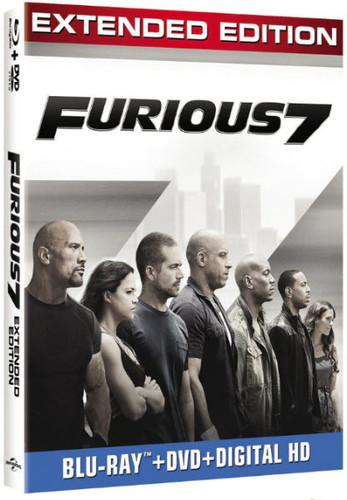 Furious 7 [Blu-ray/DVD]