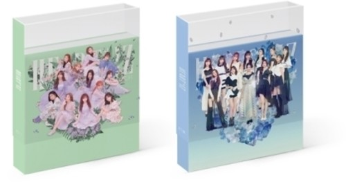 IZ*ONE, 2ND MINI ALBUM : HEART*IZ (Random Cover) (incl  160-page booklet,  1Clear Sleeve, 1 8-page mini photobook, 2 photocards + 1 pop-up card)