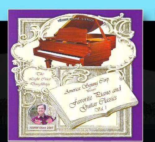 Favorite Piano and Guitars