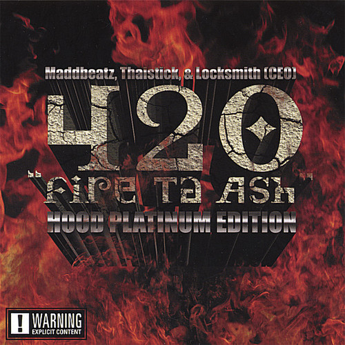 420 Fire Ta Ash Hood Platinum Edition