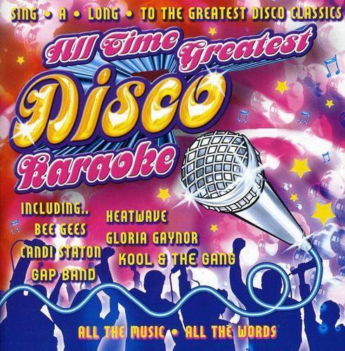 All Time Greatest Disco Karaoke
