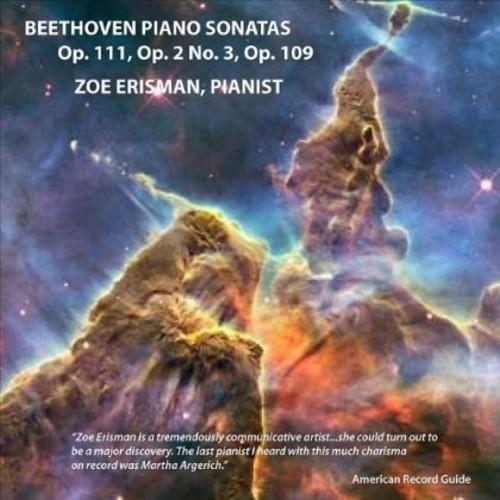 Beethoven Piano Sonatas Op. 111 Op. 2 No. 3 Op. 10