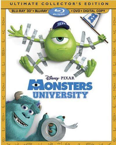 Monsters University [4 Discs] [3D/2D] [Blu-ray/DVD]
