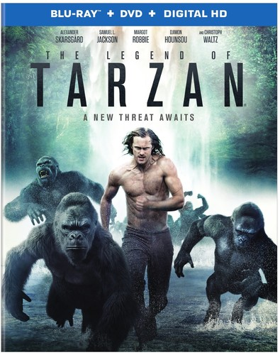 Legend of Tarzan [UltraViolet] [Blu-ray]