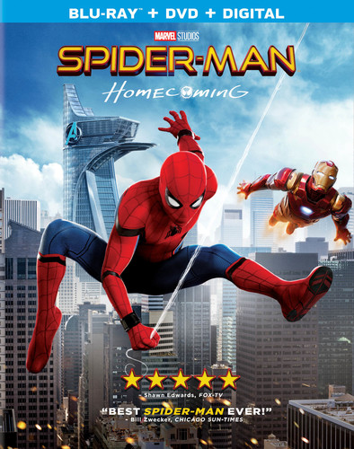 Spider-Man: Homecoming [Blu-ray/DVD]