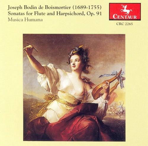 Sonatas for Flute & Harpsichord 1-6 Op 91
