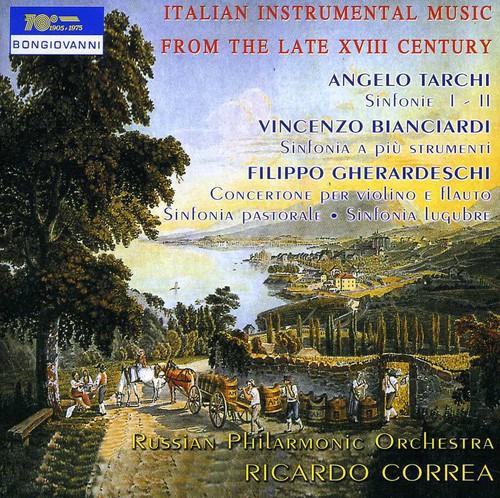 Italian Instrumental Music from Late 18th Century