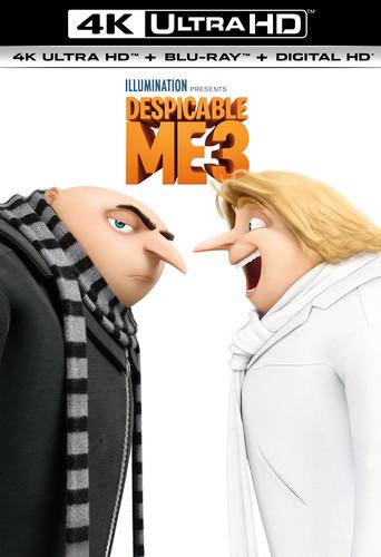 DESPICABLE ME 3 [4K Ultra HD+Blu-ray+Digital HD]