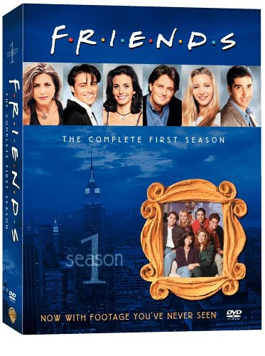 Friends: The Complete First Season [4 Discs] [TV Show]