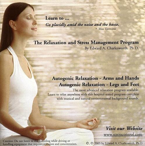 Relaxation & Stress Management Program-Autogenic R