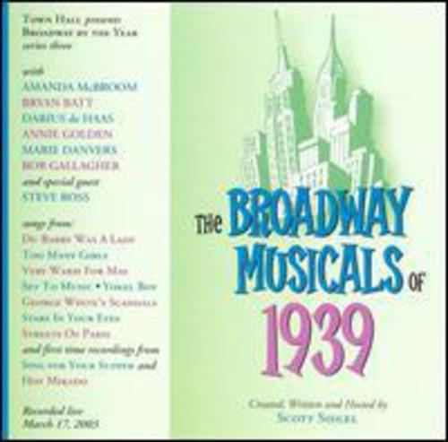 Broadway Musicals Of 1939