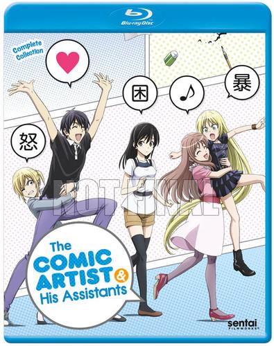 Comic Artist & His Assistants