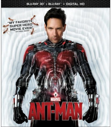 Marvel's Ant-Man [3D] [Blu-ray] [2 Discs] [DTS]