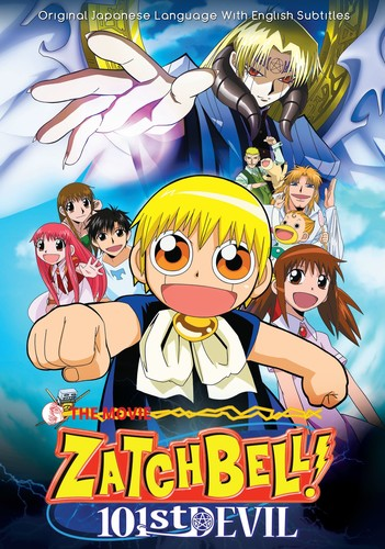 Zatch Bell Movie 1 101st Devil