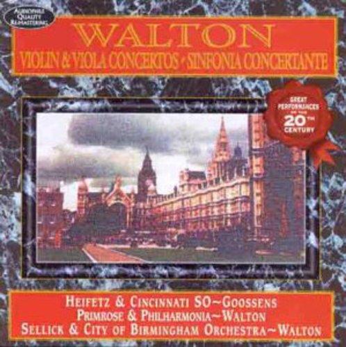 Walton: Violin & Viols Concertos