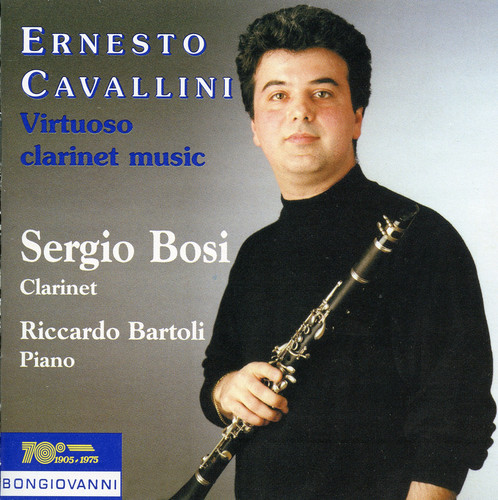 Virtuoso Clarinet Music