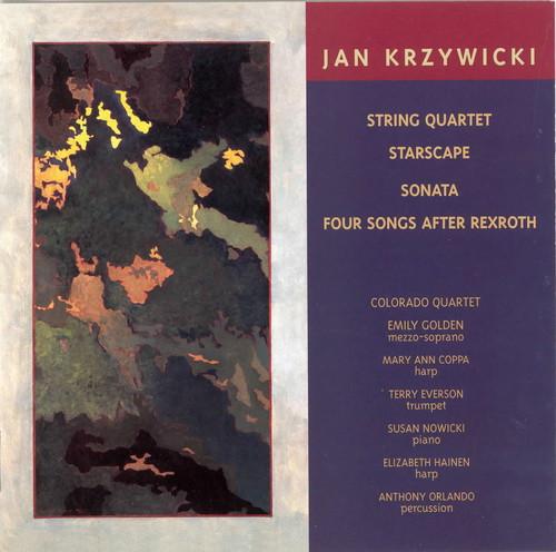 String Quartet /  Starscape for Solo Harp