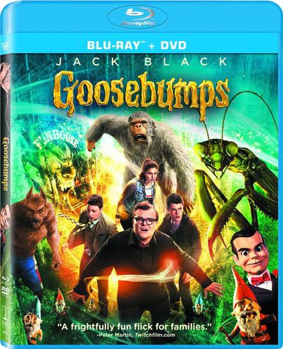 Goosebumps [Blu-ray/DVD] [2 Discs]