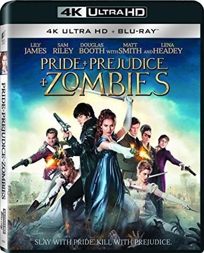 Pride and Prejudice and Zombies [4K Ultra HD Blu-ray/Blu-ray]