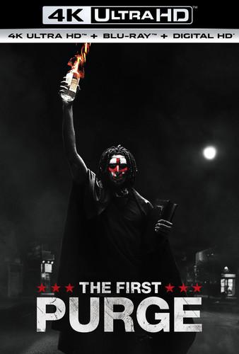 First Purge [4K Ultra HD Blu-ray/Blu-ray]