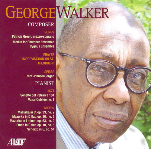 George Walker: Composer Pianist