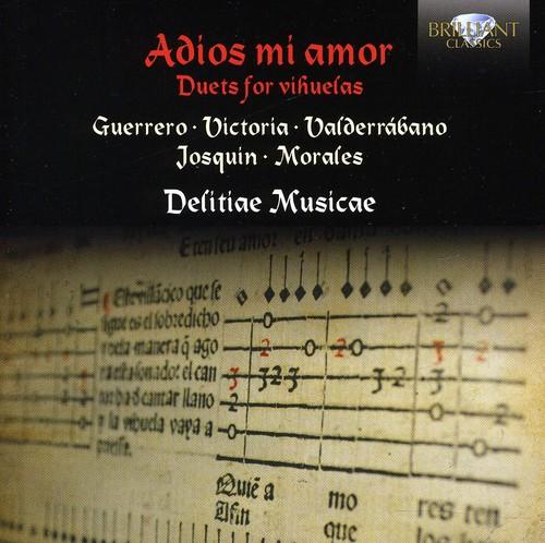 Adios Mi Amor: Duets for 2 Vihuelas