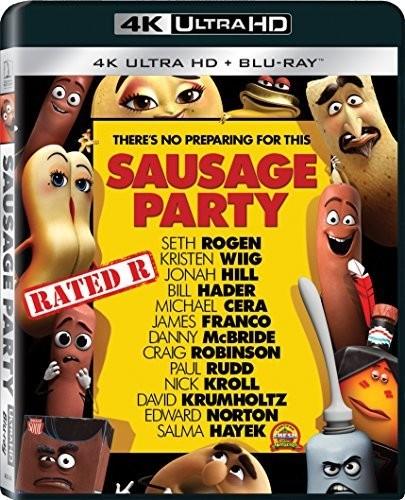 Sausage Party [4K Ultra HD Blu-ray/Blu-ray]