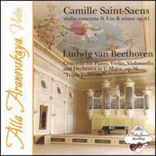 Saint-Saens Violin Concerto Beethoven Triple Concerto No 3 In B Minor Op 61