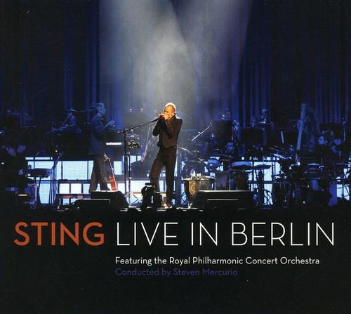 Sting-Sting: Live In Berlin [Digipak] [With DVD]